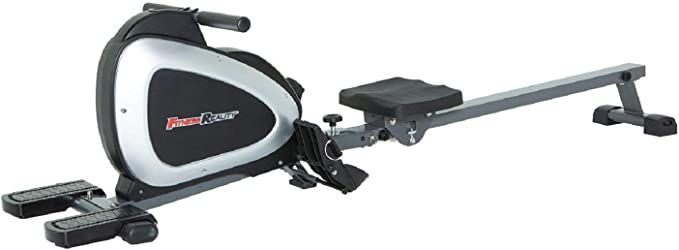 Amazon.com: FITNESS REALITY 1000 PLUS Bluetooth Magnetic Rowing Rower with Extended Optional Full Body Exercises and MyCloudFitness App: Sports & Outdoors