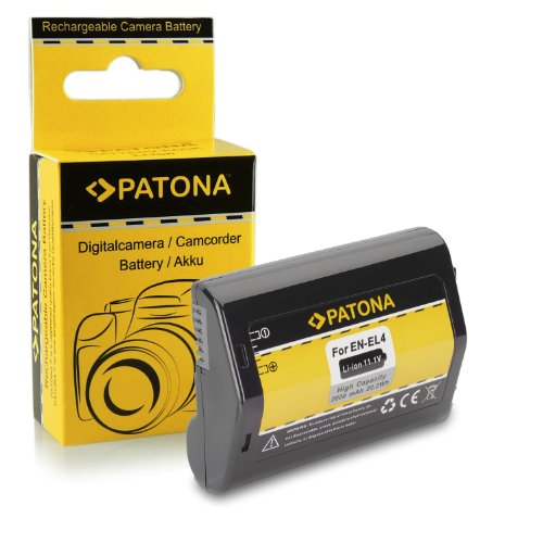 Batería EN-EL4 / EN-EL4a para Nikon D2H | D2Hs | D2X | D2Xs | D3 | D3s | D3X | F6