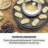 Zoom IMG-1 klarstein fonduelette piastra per raclette