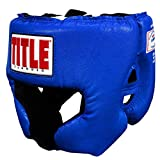 Title Boxing Classic USA Boxing Competition Headgear, Blue, Medium