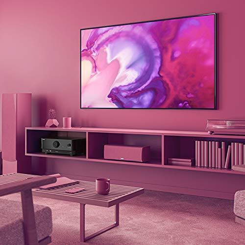 Yamaha RX-V4A, Noir – Amplificateur WiFi avec son Surround MusicCast, Fonctions Gaming et Systèmes Voice Control – Système Home Cinéma 5.2