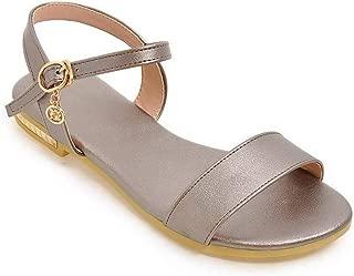 BalaMasa Womens ASL06768 Pu Fashion Sandals