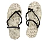 DAZCOS Adult/Kids Handmade Luffy Straw Sandals Cosplay Shoes[US 4 - US 13] (8.5 M US)