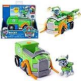 PAW PATROL Auswahl Fahrzeuge | Mit beweglichen Spielfiguren, Figur:Rocky Transforming -