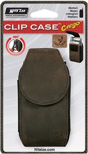Nite Ize Universal Free Shipping Cheap Bargain Gift Clip Case Cargo Medium Mesa Mall Espresso Leather