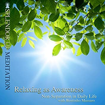 Relaxing as Awareness: Non-Separation in Daily Life, With Bentinho Massaro.