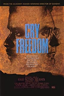 27 x 40 Cry Freedom Movie Poster