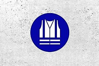 SchabloneWarnweste benutzen zweiteilig, Gebotszeichen M015