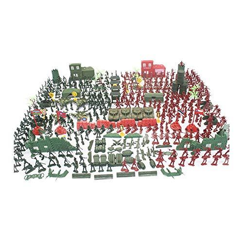 330 Stücke Mini Figuren Soldaten Set 4cm Kunststoff Armee Soldaten Minifiguren Set Militär Kleine Spielzeug Set Für Kinder