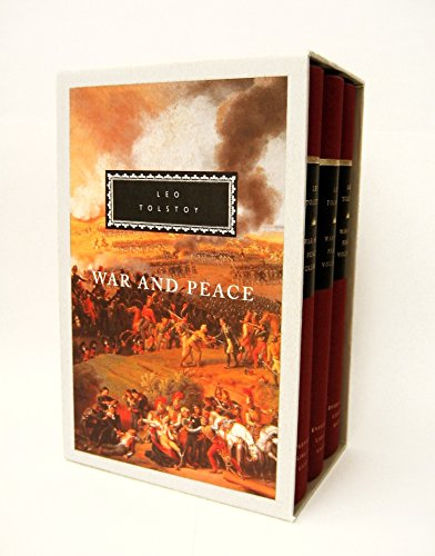 War and Peace: 3-Volume Boxed Set (Everyman's Library Classics Series)