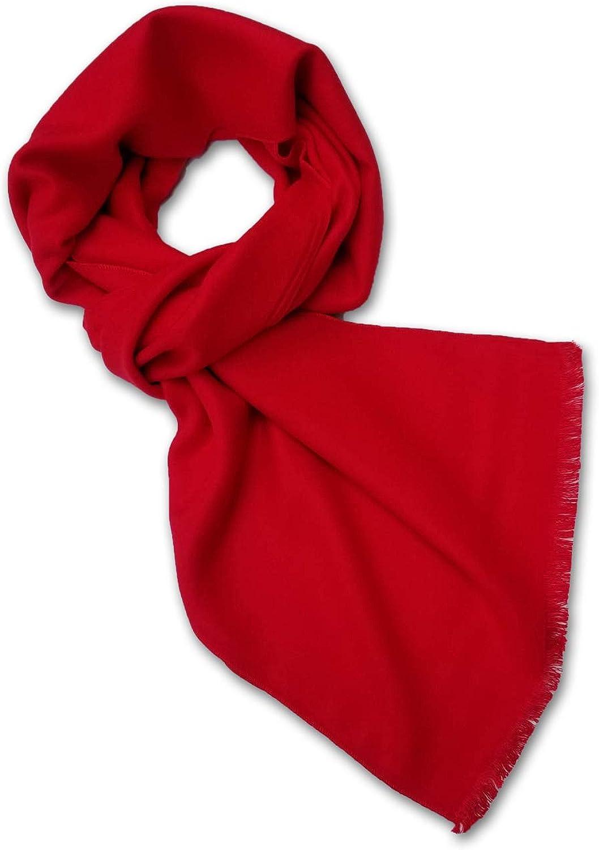 StrayKat Men's Viscose Cotton Everyday Soft Solid Scarf