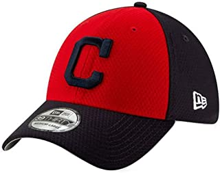 8a9bd8f1fad56 New Era 2019 MLB Cleveland Indians Batting Practice Hat Cap 39Thirty  11900164