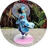 STEPHI Collection de poupées mannequins animéesfigurines de Personnages de Jeux pour enfantsornement Cadeau à collectionnerOtaku et Les Fans d'anime-Kimono REM