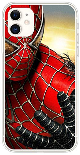 SMAIGE iPhone 11 6.1' Case Anti-Scratch Shock Absorption Cover Case for Apple iPhone 11 6.1' Release in 2019 (Spider Man)
