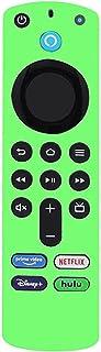 リモコンカバー 新登場 Fire T V Stick 第3世代専用リモコンカバー 専用リモコンカバー Alexa対応音声認識 シリコン製 耐衝撃 防水防塵 軽量 滑りとめ シリコン保護ケース