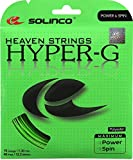Solinco Hyper-G Heaven Strings Poly (Polyester) 18 Gauge / 1.15mm Tennis Racquet String Sets 2-Pack (2 Sets Per Order) - Best for Spin, Control, and Durability