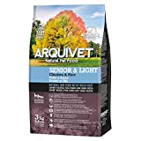 Arquivet Pienso natural para perros - Senior & Light Pollo y arroz - 3 Kg