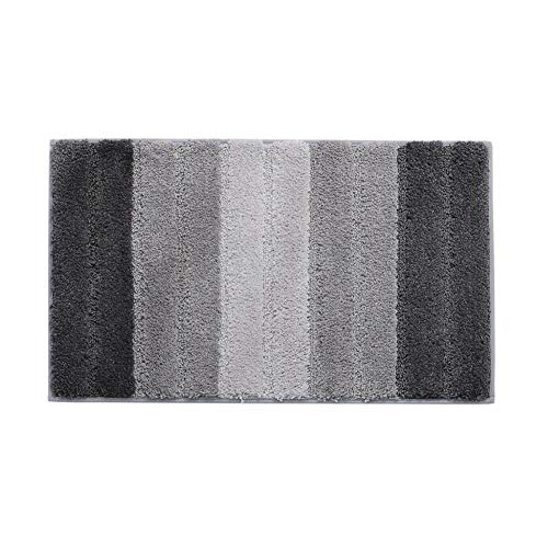 Seasaleshop Badmat antislip en wasbare douchebak van microvezel, absorberende badmat voor de badkamer in de wasmachine