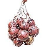 Ogquaton Sac de Basket-Ball Filet de Football Poche de Maillage épais Porter Sac en Nylon pour Ballon de Football de Volley-Ball