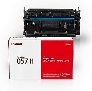 Canon Genuine Toner Cartridge 057 Black, High Capacity (3010C001), 1-Pack, for Canon imageCLASS MF449dw, MF448dw, MF445dw,...