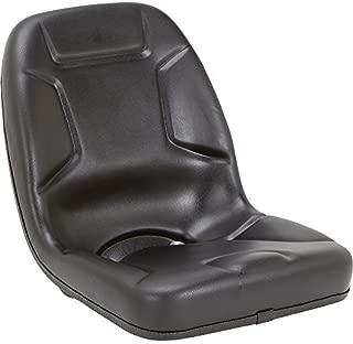 Black Talon Highback Kubota Tractor Seat - Black, Model Number 530000BK