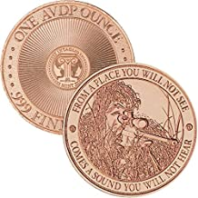 Jig Pro Shop Intaglio Mint Patriotic Militaria Series 1 oz .999 Pure Copper BU Round/Challenge Coins