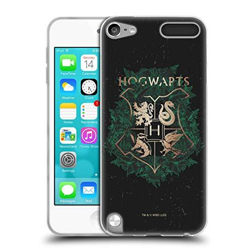 Head Case Designs Licenciado Oficialmente Harry Potter Escudo Hogwarts 2 Reliquias de la Muerte XXXI Carcasa de Gel de Silicona Compatible con Apple iPod Touch 5G 5th Gen