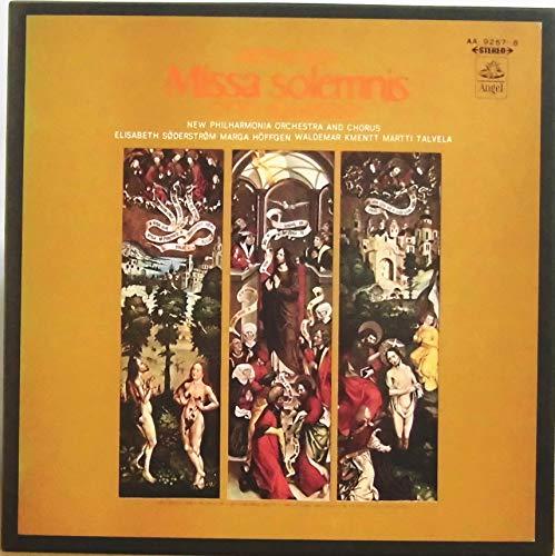 ベートーヴェン:ミサ・ソレムニス (全曲) 2 LP BOX