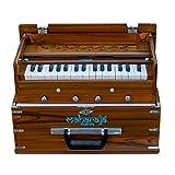 Maharaja Musicals, Kirtan Harmonium, Portable In-Flight Edition, Natural Color, Latest Model (GSB-KH2)