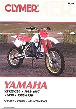 Yamaha YZ 125 250 490 85-90 Clymer Repair Manual