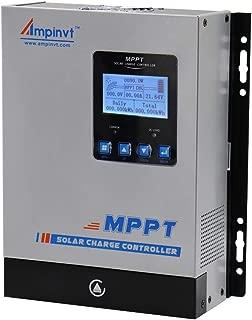60A MPPT Solar regulador 12V 24V 36V 48V Automatically Identifying System Voltage Controladores MPPT para energía solar y eólica baterías de litio- selladas- de gel y de inundación