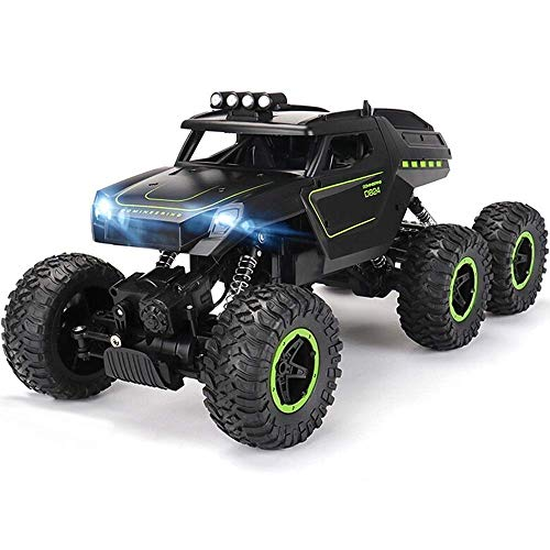 6WD RC Black Off-Road Cars 15