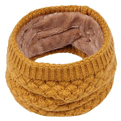 Cuteelf Mädchen Steck-Schal aus Fleece kuschelig weicher Halswärmer mit Schlaufe zum Einstecken