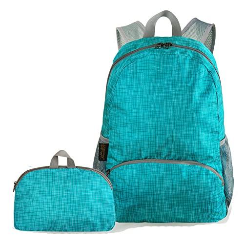 YUNLILI Moda Escursionismo Zaino 20L Ultraleggero Pieghevole Impermeabile Sport Gym Bag Gioventù Computer Bag Shopping Bag 29x17x41cm