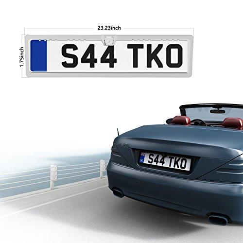 Placa de Licencia copia de seguridad cámara 16 LED de alta