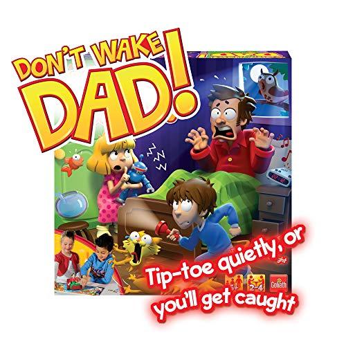 Drummond Park Sshh! Don't Wake Dad – Jeu de Société Réveille Pas Papa Electronique Version Anglaise