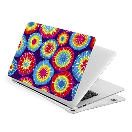 Rainbow Tie Dye MacBook Air 15 Inch Case Slim Fits with A1707 A1990 Plastic Hard Shell Protective Cover