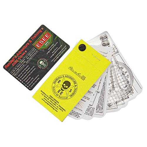 ESEE Pocket Navigation/Survival Cards with Rite in Rain Notebook