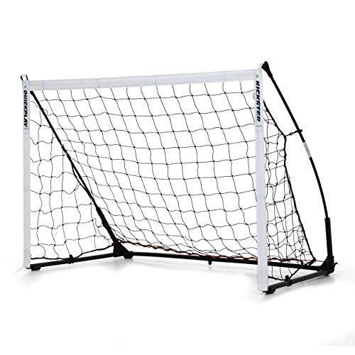 QUICKPLAY Kickster Elite Portable Soccer Goal with...
