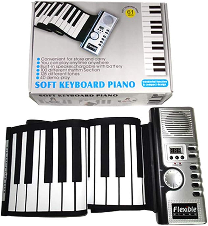 NUYI 61 Schlüssel Hand Rolle Klavier Big Horn Tastatur Tragbare Kinder Studenten Anfnger Version