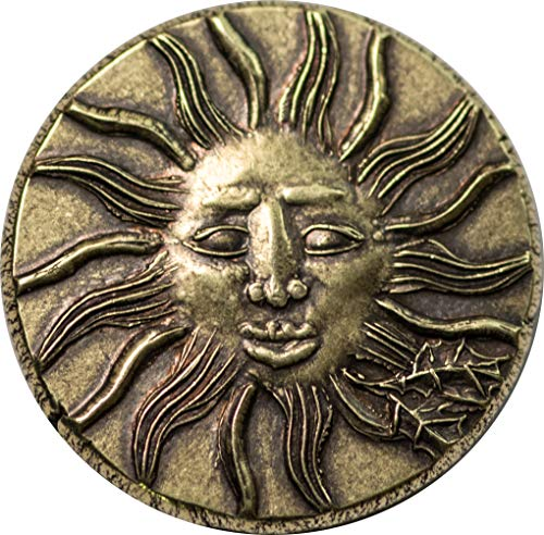 American Gods Sun Coin - Mad Sweeney's Lucky Coin