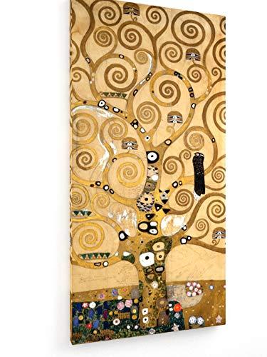 Gustav Klimt - Stocletfries - Lebensbaum - 40x80 cm - Leinwandbild auf Keilrahmen - Wand-Bild - Kunst, Gemälde, Foto, Bild auf Leinwand - Alte Meister/Museum