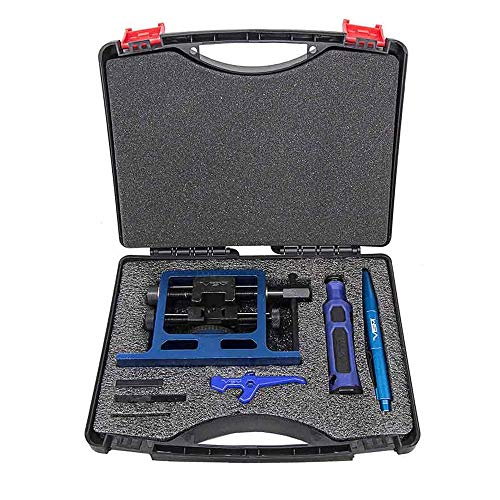 The Ultimate Complete Armorer Kit includes Front and Rear Sight Installation + Disassembly Tool and More in Foam Lined Storage Case works with Glock 17 19 19X 20 22 23 29 31 32 37 38 43 43X 45 48