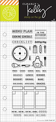 Hero Arts Kelly's Cooking Planner