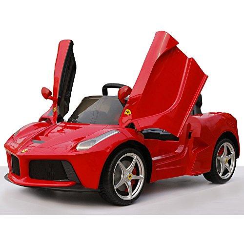 Ferrari Auto Macchina Elettrica 12V per Bambini 1 Posto Rossa
