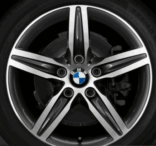 Original BMW Alufelge 1er F20 F21 Sternspeiche 379 in 17 Zoll