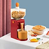 Safety Home 220V Electric Grinding Mechanism for Peanut Butter Maker Coffee Grinder Food Processor with Non-Slip Base Hourglass Inlet ABS+Stainless Steel