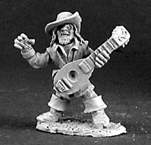 Dark Heaven Fynch Brassfog Male Gnome Bard RPR 03107 by Reaper