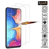 ANKENGS Samsung Galaxy A20e Panzerglas [2er Pack], Samsung A20e Schutzfolie Panzerglas, [Kratzfest] [Anti-Schaum] Samsung Galaxy A20e Bildschirmschutzfolie