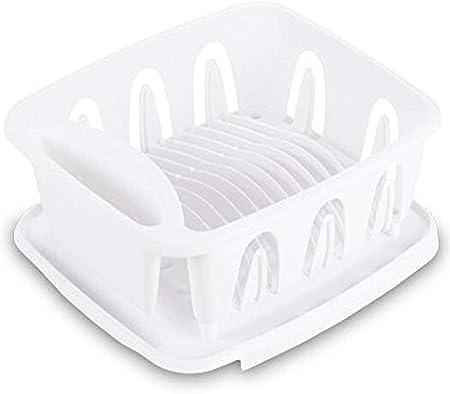Amazon Com Sterilite 06368004 White Small Ultra Sink Set 2 Piece Home Kitchen